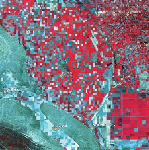 2006 irrigated acreage, Westlands