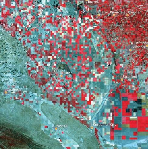 2009 irrigated acreage, Westlands